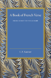 A Book of French Verse