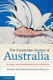 The Cambridge History of Australia