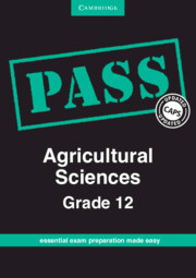 PASS Agricultural Sciences Grade 12