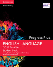 GCSE English Language for AQA Progress Plus Student Book