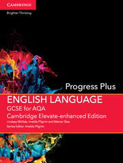GCSE English Language for AQA Progress Plus Cambridge Elevate Enhanced Edition (1 Year) School Site Licence