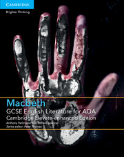for AQA Macbeth Cambridge Elevate enhanced edition