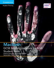 for AQA Macbeth Student Book with Cambridge Elevate enhanced edition (2 Years)