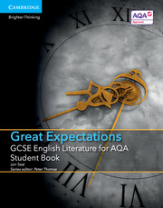 for AQA Great Expectations Student Book with Cambridge Elevate enhanced edition (2 Years)