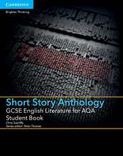 for AQA Short Story Anthology Student Book