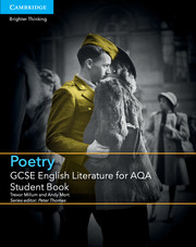 for AQA Poetry Student Book