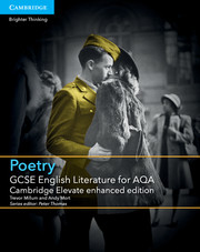for AQA Poetry Cambridge Elevate enhanced edition