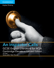 for AQA An Inspector Calls Cambridge Elevate enhanced edition (1 Year) School Site Licence