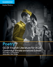 GCSE English Literature for AQA Poetry Cambridge Elevate Enhanced Edition (1 Year) School Site Licence
