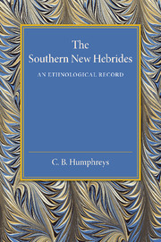 The Southern New Hebrides