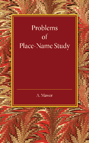 Problems of Place-Name Study
