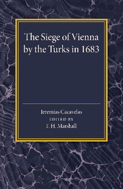 The Siege of Vienna by the Turks in 1683