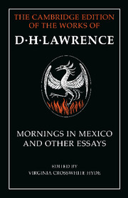 Mornings in Mexico and Other Essays