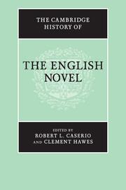 The cambridge history of the english novel edited by robert l caserio the cambridge history of the english novel fandeluxe Image collections