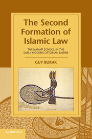 The Second Formation of Islamic Law