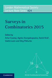 Surveys in Combinatorics 2015