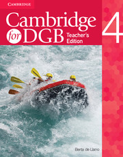 Cambridge for DGB Level 4