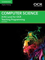 for OCR Teaching Programming Cambridge Elevate enhanced edition