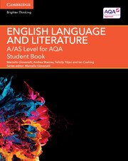 A/AS Level English Language and Literature for AQA