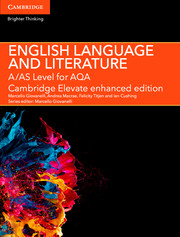 A/AS Level English Language and Literature for AQA Cambridge Elevate Enhanced Edition (2 Years)