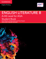 A/AS Level English Literature B for AQA