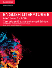 A/AS Level English Literature B for AQA Cambridge Elevate Enhanced Edition (1 Year) School Site Licence