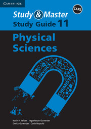Study & Master Physical Sciences Study Guide Grade 11