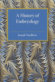 A History of Embryology
