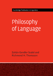 Cambridge Textbooks in Linguistics