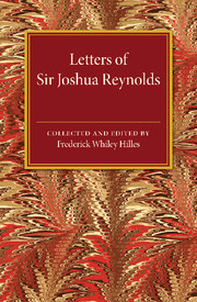 Letters of Sir Joshua Reynolds