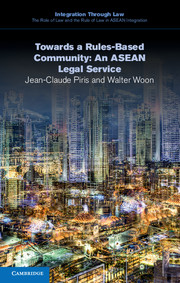 Towards a Rules-Based Community: An ASEAN Legal Service