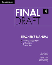 Final Draft Level 4 Teacher's Manual