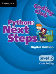 Coding Club Python: Next Steps  Level 2