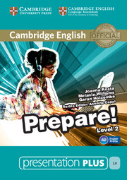 Cambridge English Prepare! Level 2 Presentation Plus DVD-ROM
