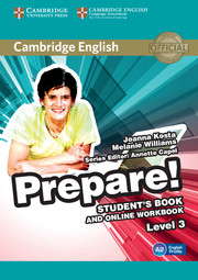 Cambridge English Prepare! Level 3