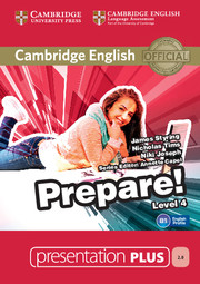 Cambridge English Prepare! Level 4