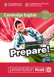 Cambridge English Prepare! Level 5