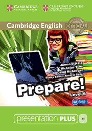 Cambridge English Prepare! Level 6