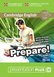 Cambridge English Prepare! Level 7