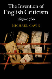 The Invention of English Criticism