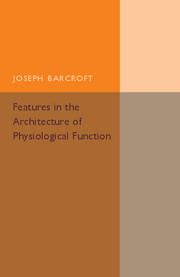 Features in the Architecture of Physiological Function