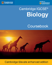 Cambridge igcse biology coursebook with cd-rom (cambridge.
