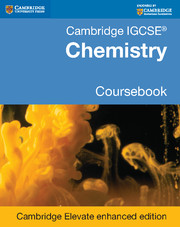 Cambridge IGCSE® Chemistry Coursebook Cambridge Elevate Enhanced Edition (2 Years)