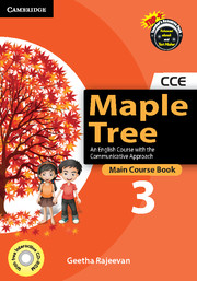 Maple Tree Level 3 Main Course Book with CD-ROM