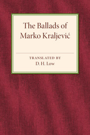 The Ballads of Marko Kraljevic