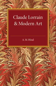 Claude Lorrain and Modern Art