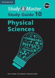 Study & Master Physical Sciences Study Guide Grade 10