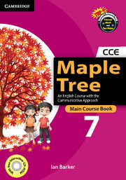 Maple Tree Level 7 Main Course Book with CD-ROM