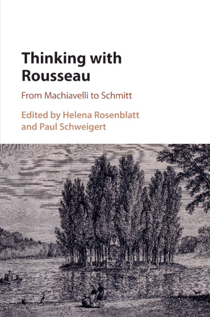 Rousseau And Montesquieu Chapter 4 Thinking With Rousseau