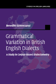 Grammatical Variation in British English Dialects